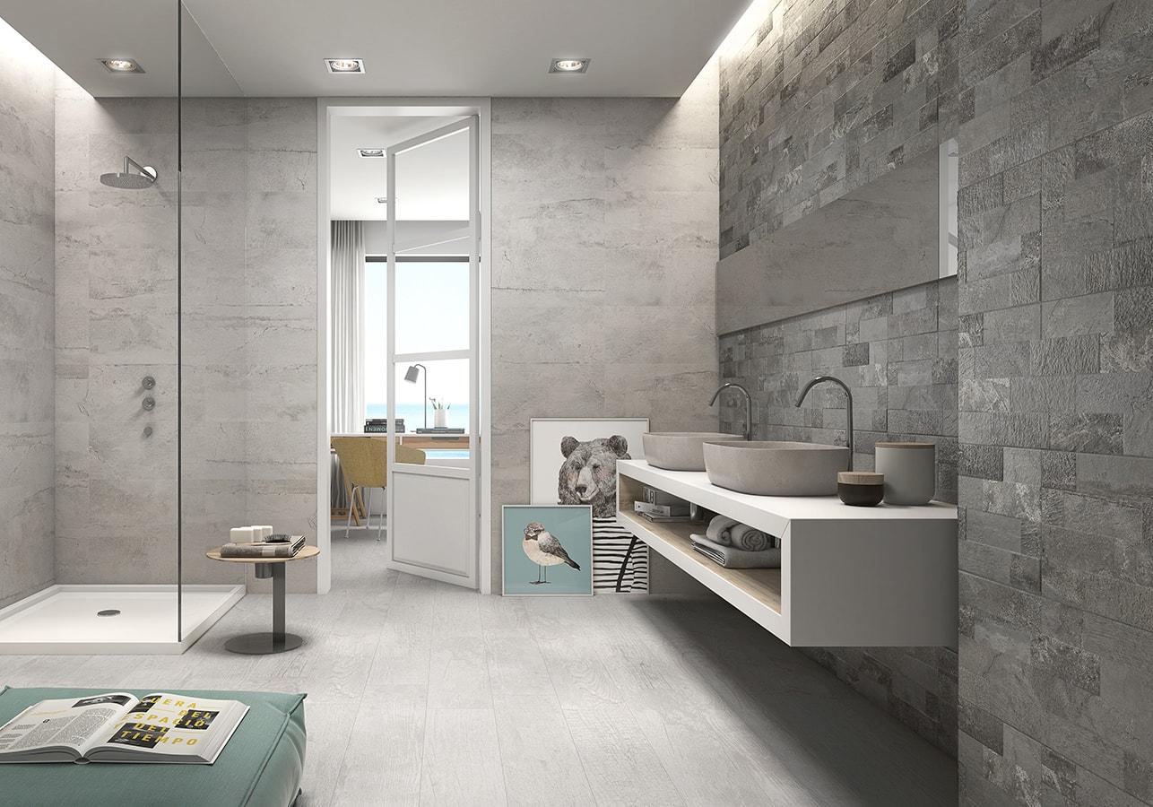 Baño de cemento
